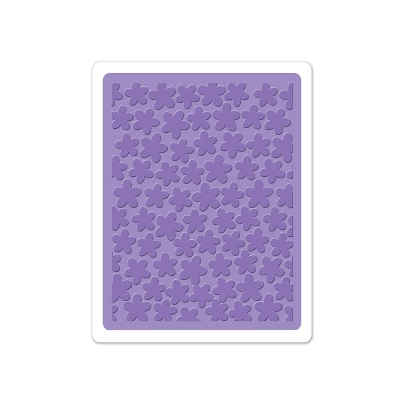 Sizzix Textured Impressions Embossing Folder - Tiny Flowers