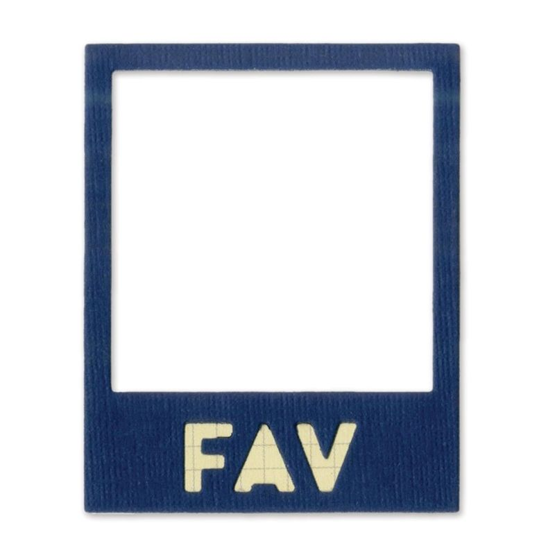 Sizzix Thinlits Die - Photo Frame, Fav