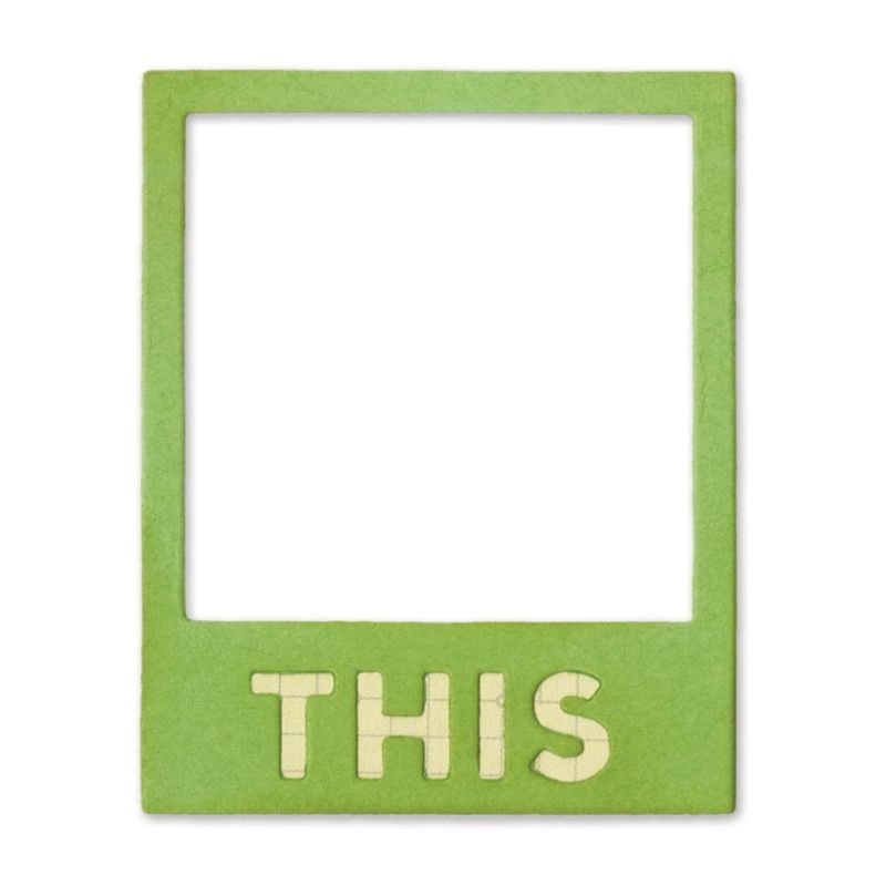 Sizzix Thinlits Die - Photo Frame, This