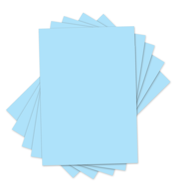 "Sizzix Inksheets - 4"" x 6"" Transfer Film, 5 Light Blue Sheets"