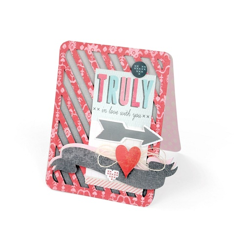 Sizzix Bigz XL Die - Card, A2 Striped